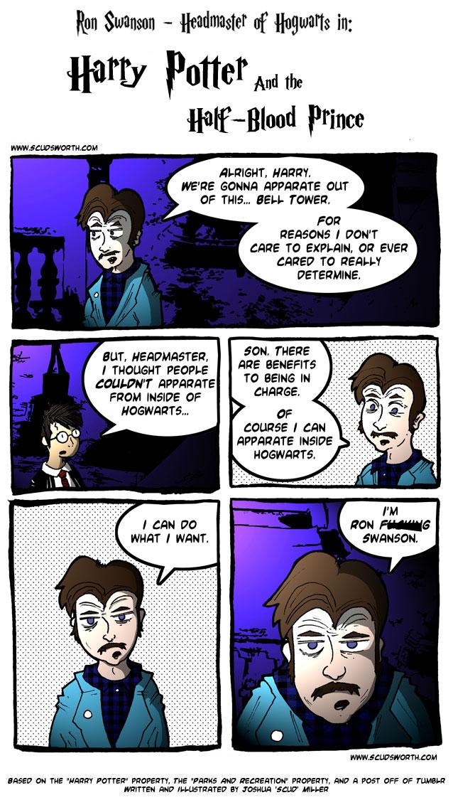 Ron Swanson - Hogwarts Headmaster - 3.jpg