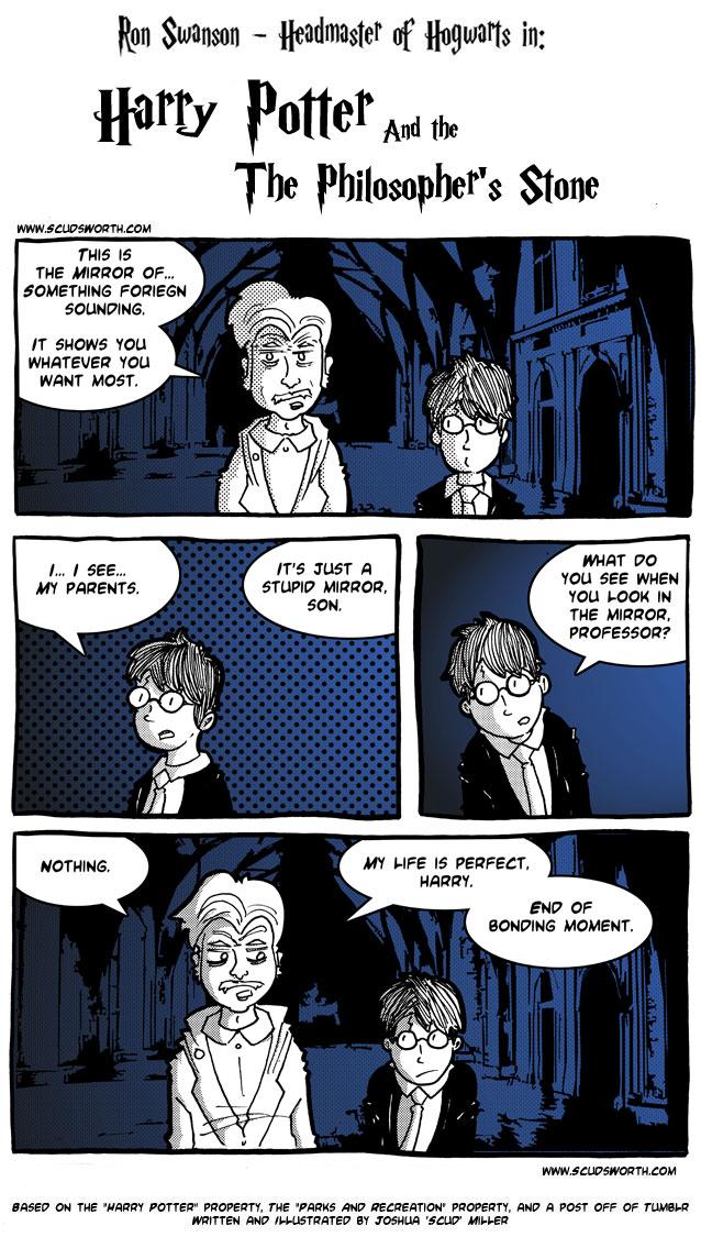Ron Swanson - Hogwarts Headmaster - 4.jpg