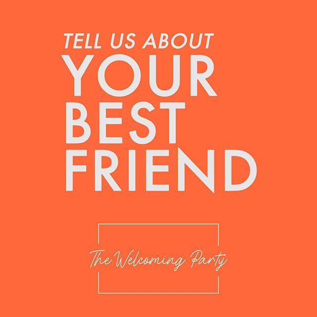 Who are they? Why do you love them?  What do you do together? Answer in the comments!  #thewelcomingparty #cincinnati #yourewelcome