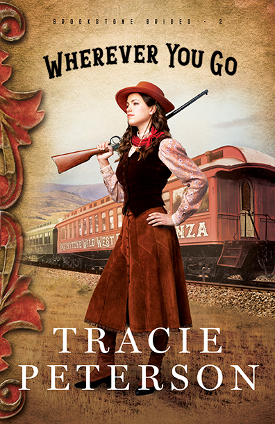 - Mary is one of the best sharpshooters in the country, but unless the man who killed her brother is brought to justice, her accomplishments seem hollow. Journalist Christopher is covering her show, and he is immediately captivated by Mary—but getting close to someone would threaten to bring his past to light. Can they find healing from the past together?Wherever You Go by Tracie PetersonBROOKSTONE BRIDES #2COMING JUNE 2019