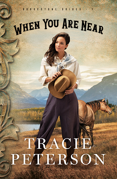 - In early 1900s Montana, Lizzy Brookstone's role as star of an all-female wild west show is rewarding but difficult. However, trials of the heart and a mystery to be solved prove more daunting. As Lizzy and her two friends, runaway Ella and sharpshooter Mary, try to discover how Mary's brother died, all three seek freedom in a world run by men.When You Are Near by Tracie PetersonBROOKSTONE BRIDES #1