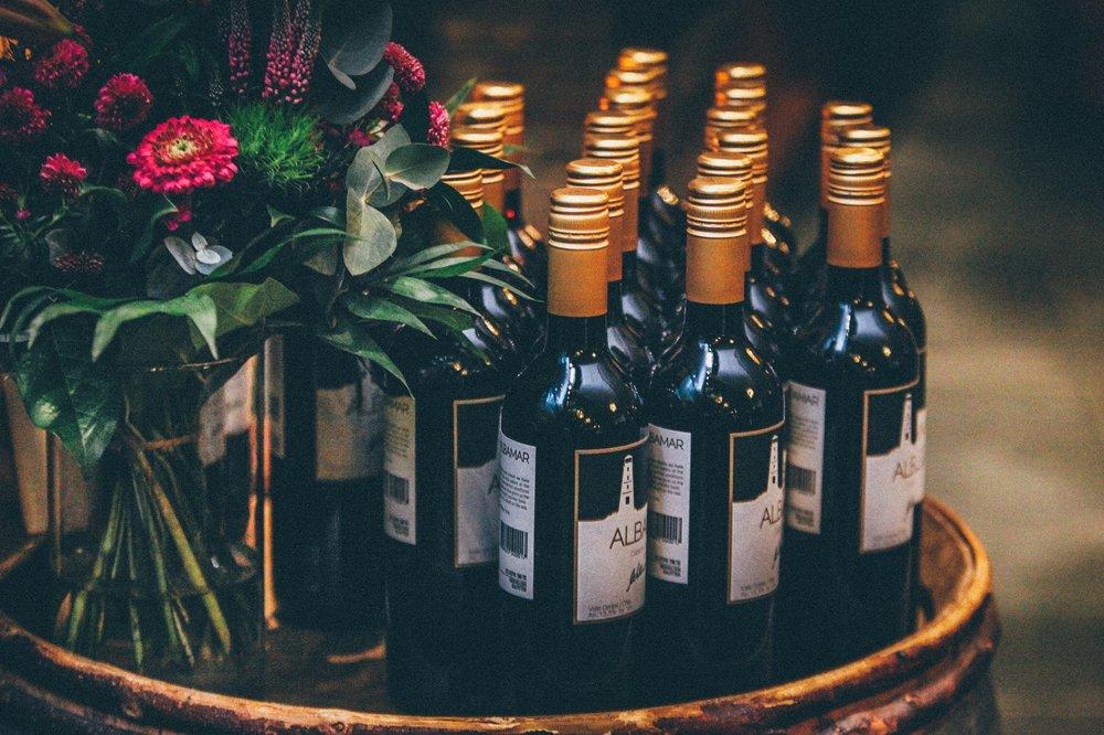 Drinks Menu - Wine, beers, cocktails and spirits.