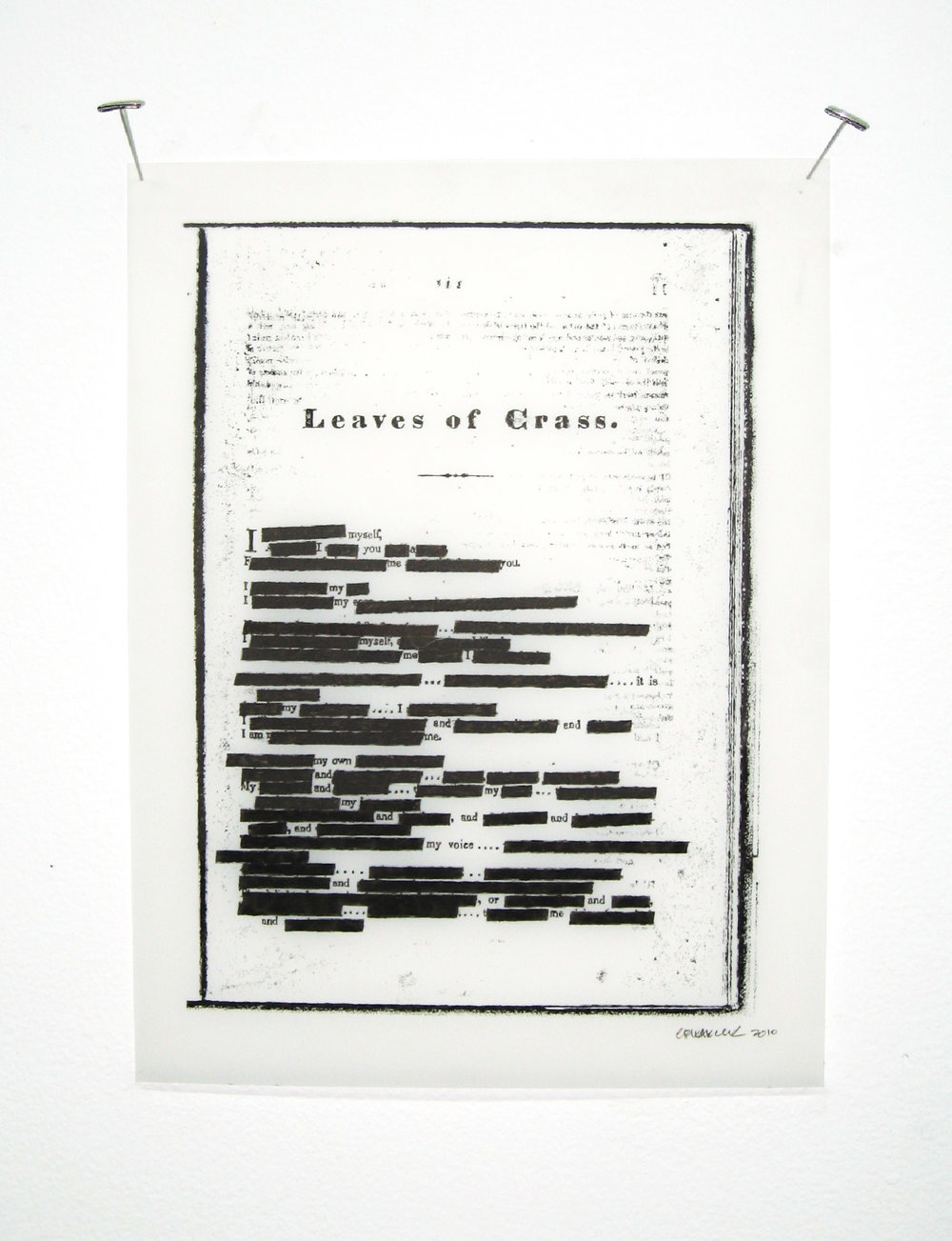 Leaves of Crass, 2011