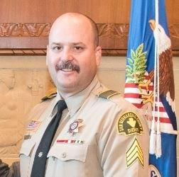 Sgt. Jason Hendrix, Vice-President and Co-Founder of Cannonball Memorial Run