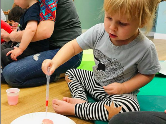 Educational classes - From live music, tummy time to sensory science and so much more! Classes are inclusive to all ages but you'll also find age specific activities. Learn new skills and engage all of your senses.