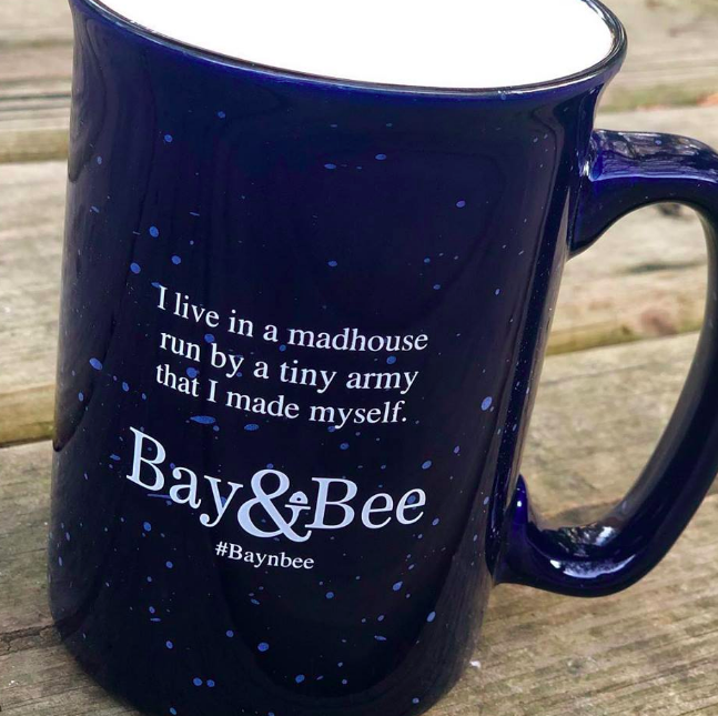 Get a Bay & Bee coffee cup and unlimited coffee free - when you sign up during your first visit.