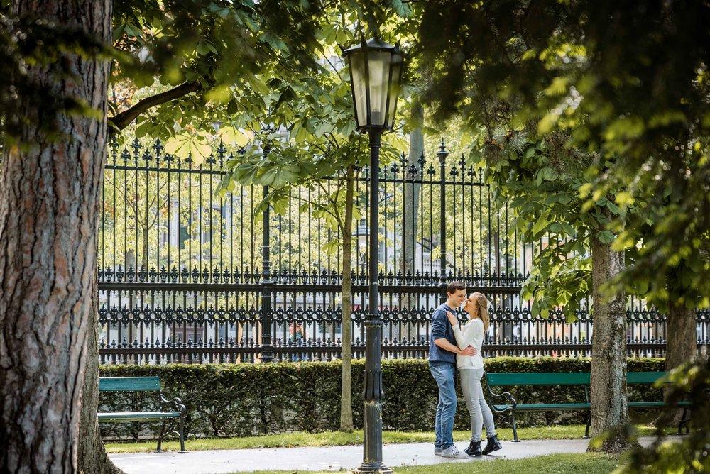 Paarshooting im Volksgarten - Couple
