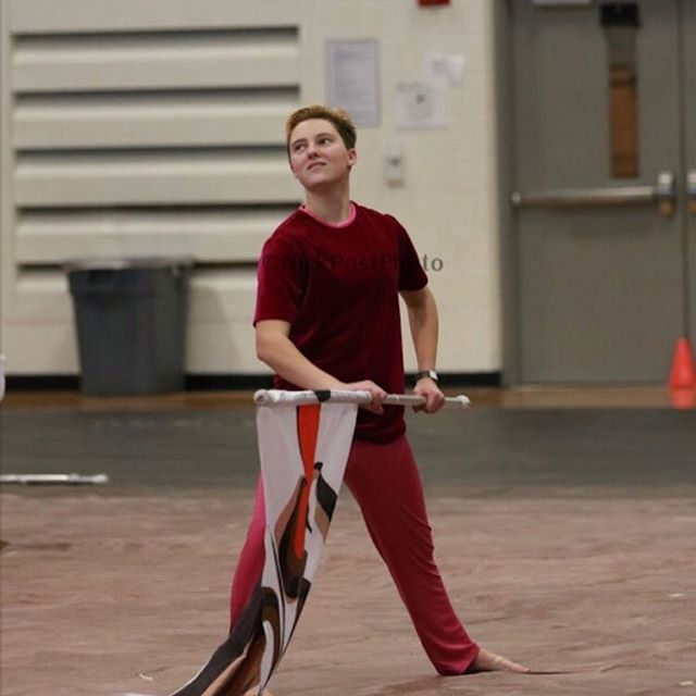 Member of the week!! Ethan Hollingsworth ✨6th season ✨Senior ✨Fun Fact: He loves cross stitch, baking, and embroidery!!