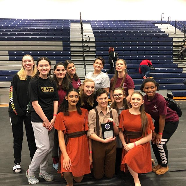 Sanderson Winterguard placed first at their second to last competition at Rolesville High School last night!! Good job to everyone who performed!! Next stop..AIA Championships!