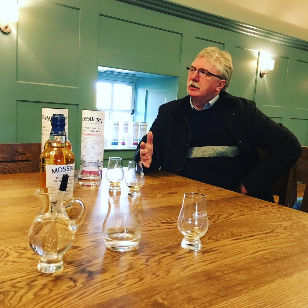 Whisky Tasting Visit at Torrabaig Distillery Isle of Skye - john Mc Gale
