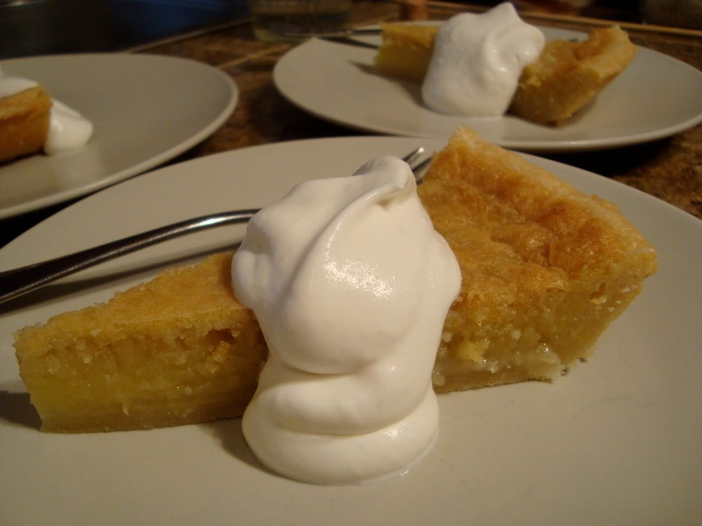 Ginger Pie - a rescued recipe (link)
