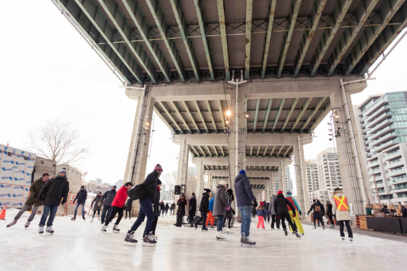 Photo: The Bentway, Toronto. (Photo by The Bentway)
