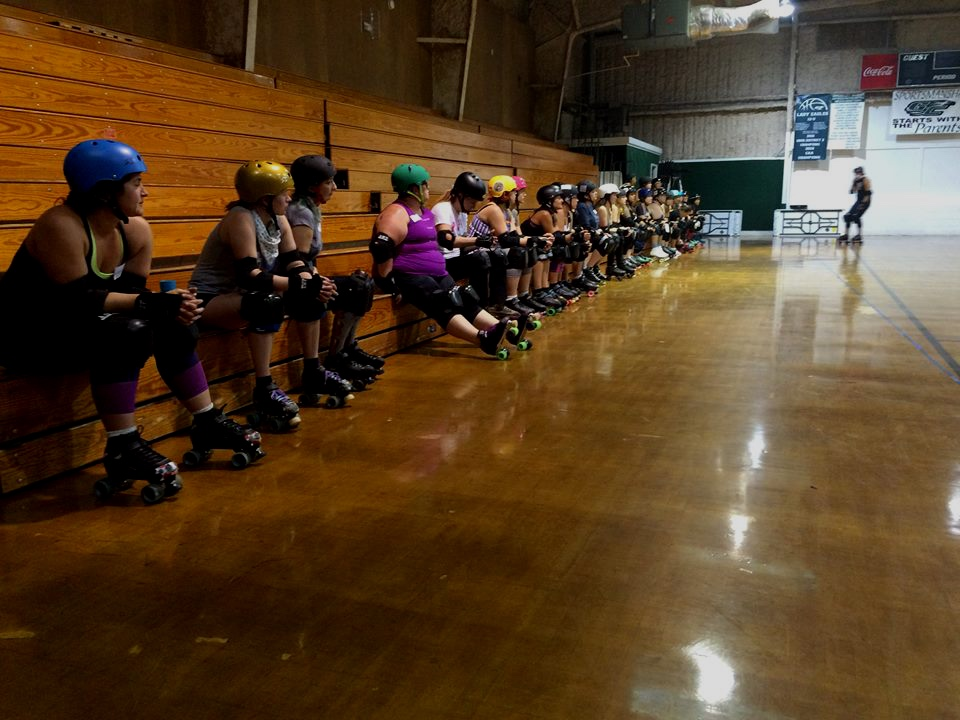 join the fastest growing sport in the world! - Sign up for our wRECk league and start your own roller derby journey!