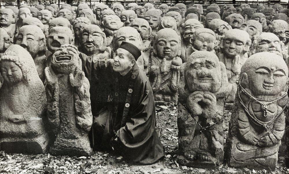 otagi kyoto nishimura statues