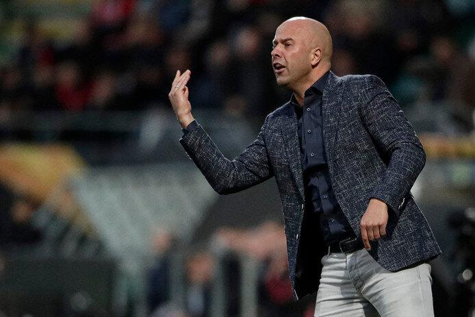 Arne Slot, tecnico dell'Az che affronterà il Napoli
