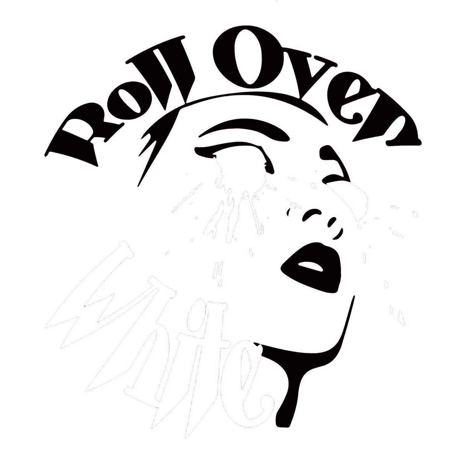 Roll Over White