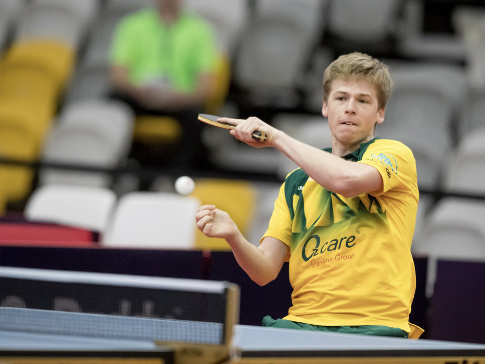 Table Tennis Challenge with one of Australia's best