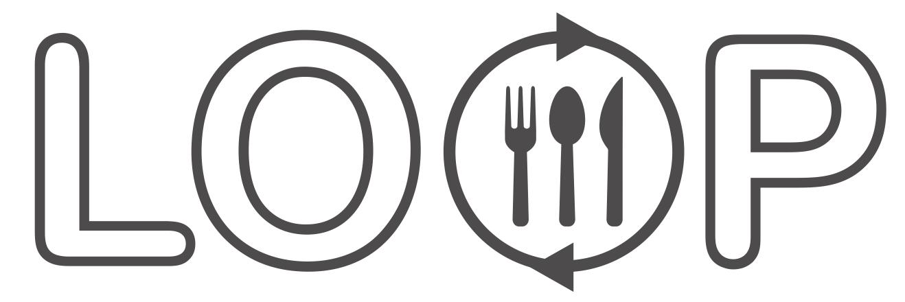 Reusable plates & cutlery hire for festivals. Zero Waste. Choose to Reuse. Choose LOOP.