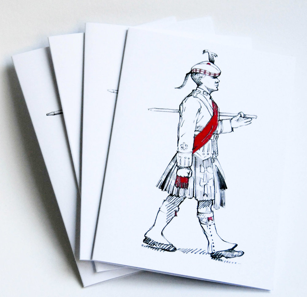 'On Parade' cards
