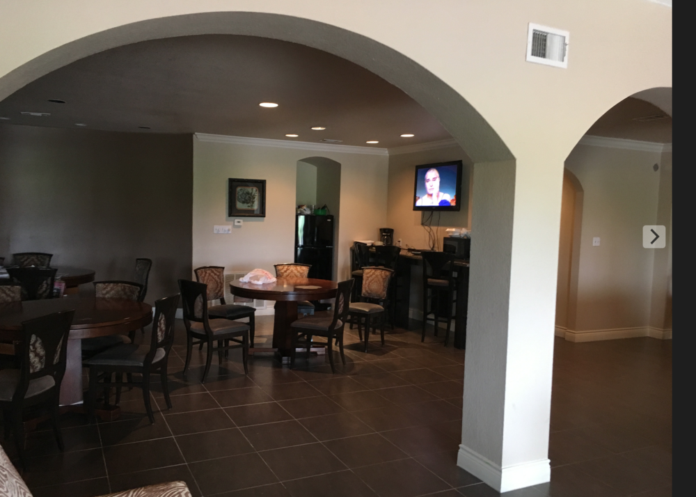 This apartment clubhouse hosted Silambam's first year of classes. See banner image above for a view of the outside!