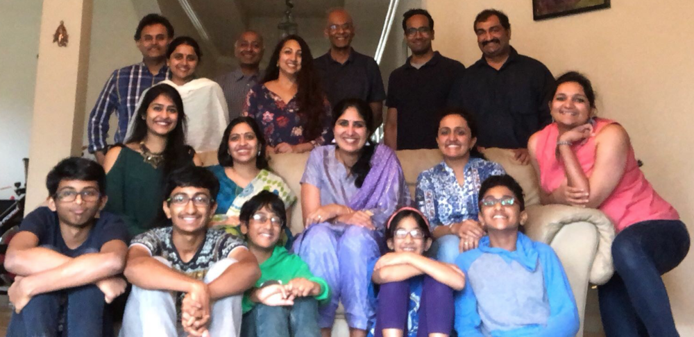 Silambam faculty and families meet up, 2018