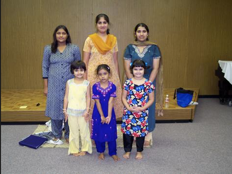 Some of Silambam's first students.