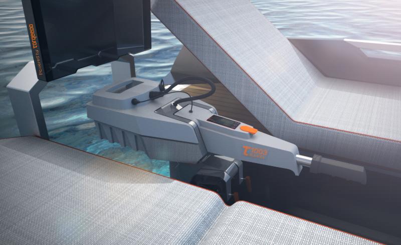 Designed for easy boating -