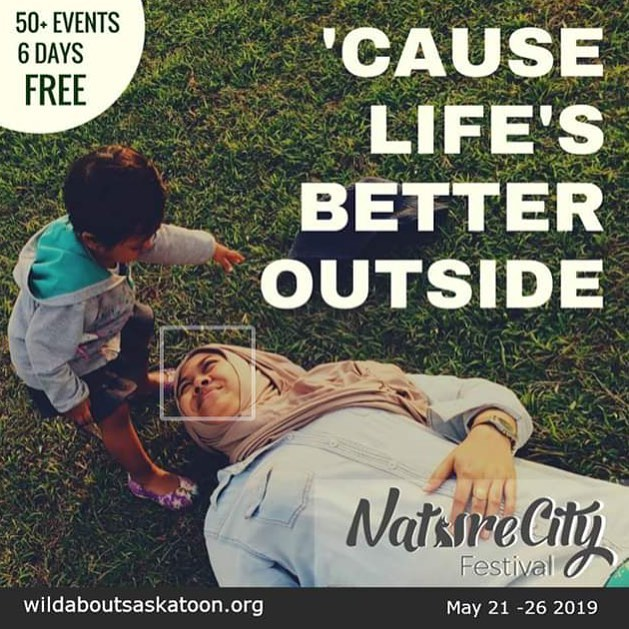 Spring is on the way! Submissions for NatureCity Festival are now open!  www.wildaboutsaskatoon.org #growwild #yxe #eco #conservation #conservationist #outdooreducation #localyxe #saskatooning
