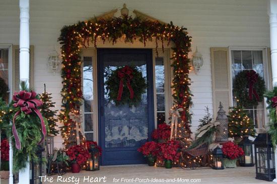 Front Door - Christmas