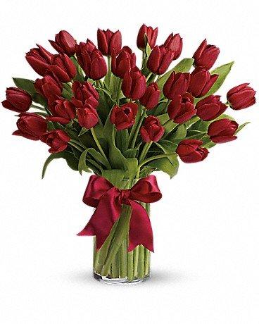 Valentine's Day Tulips - $80.00