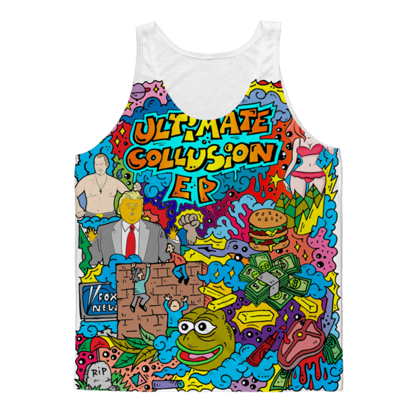 Tank Top - Don't be the only one at the pool party without a frozen Russian bank account$26.99/1767.38₽