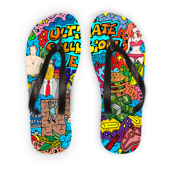 Flip Flops - Flip flop more than a federally indicted witness!$28.99/1898.34₽