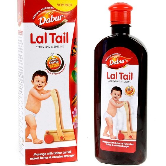 Dabur Lal Tail is a unique blend of natural ingredients | Image courtesy Google Search