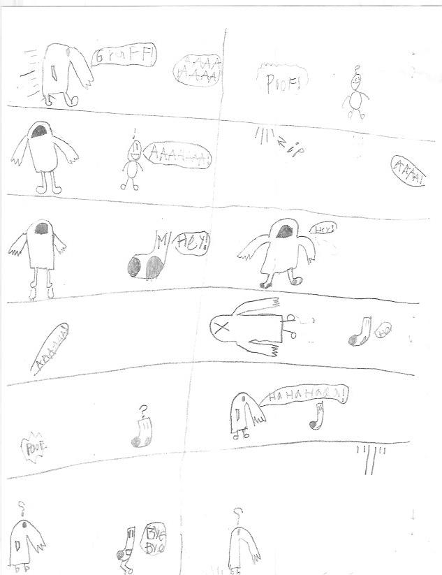 Super Sock & Land Man vs Gruff & Mask Man - Page 1