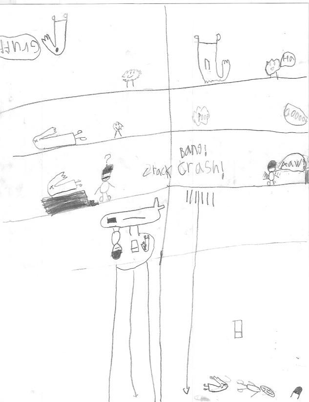Super Sock & Land Man vs Gruff & Mask Man - Page 2