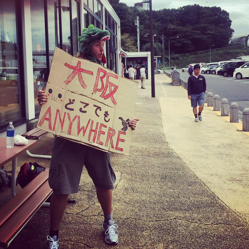 Max - Hitchhiking from Japan to South Korea