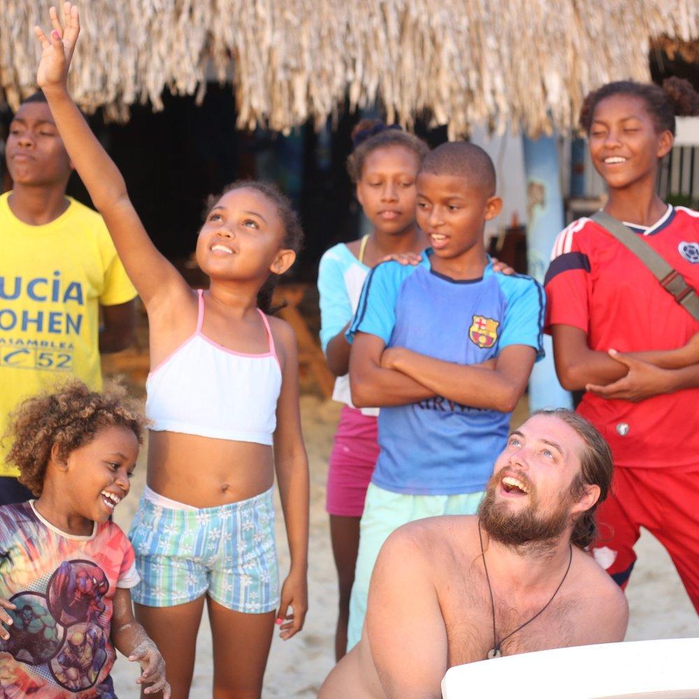 Joel - Teaching Colombian children how a drone works