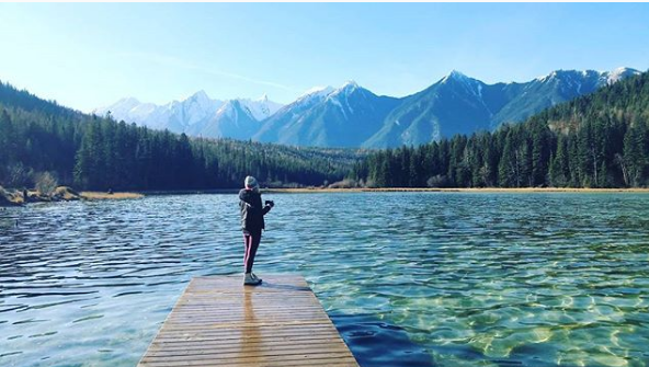 Swan Lake - BC, Canada
