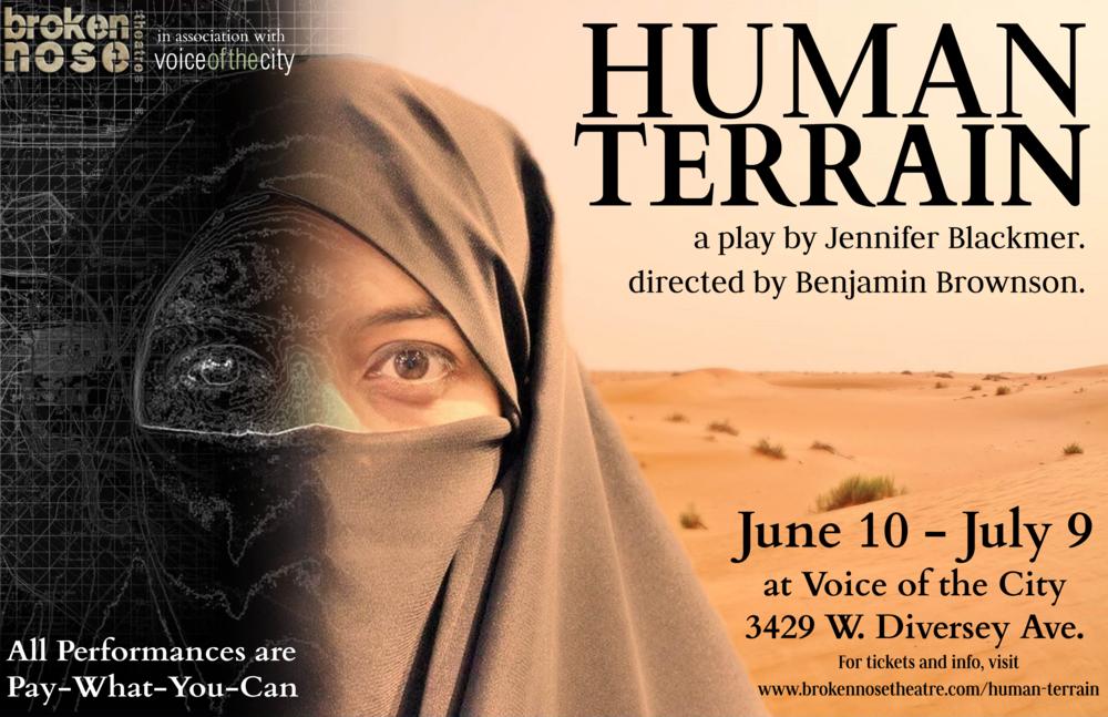 HUMAN TERRAIN .  Chicago Premiere.