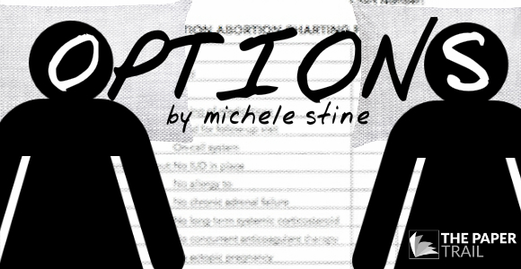 OPTIONS.   The Paper Trail (New Play Development).