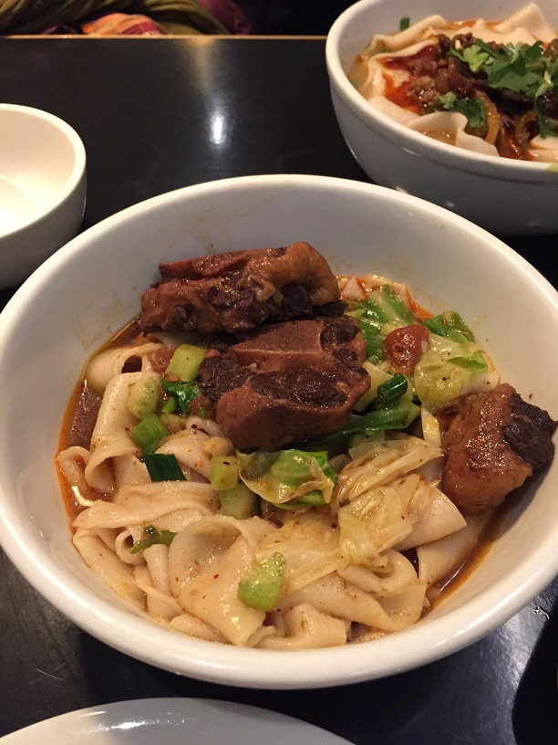 Biang oxtail noodles