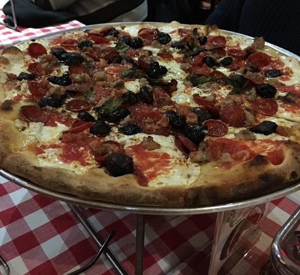 Grimaldi's pizza