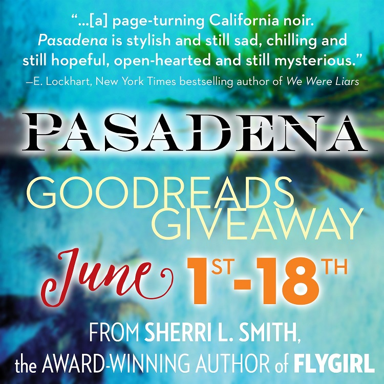 Goodreads Giveaway 6-1 to 6-18-16