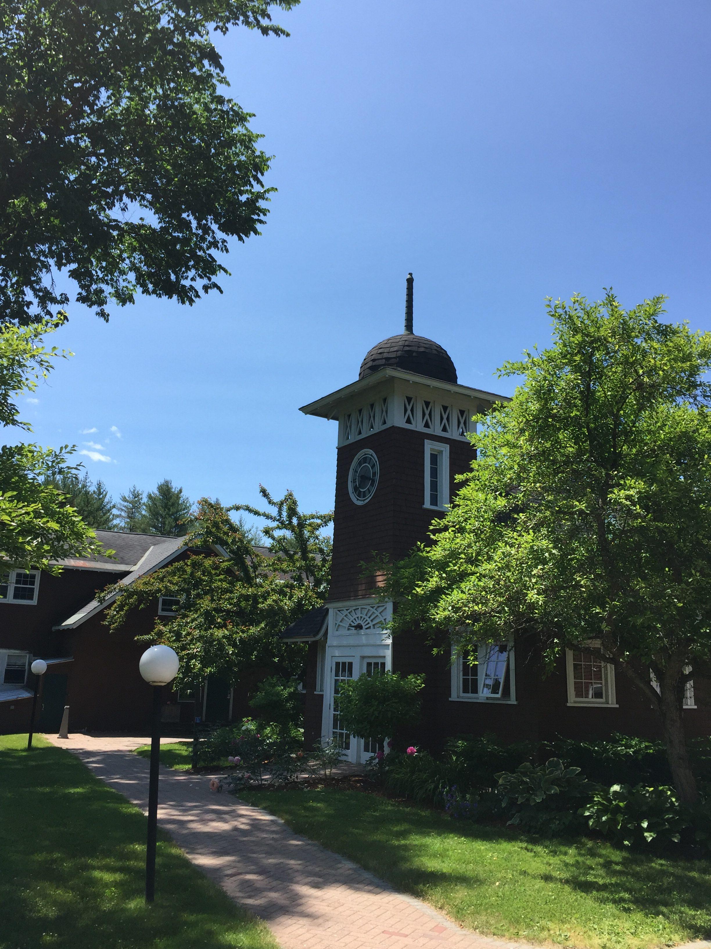 Goddard College Vermont Campus in July