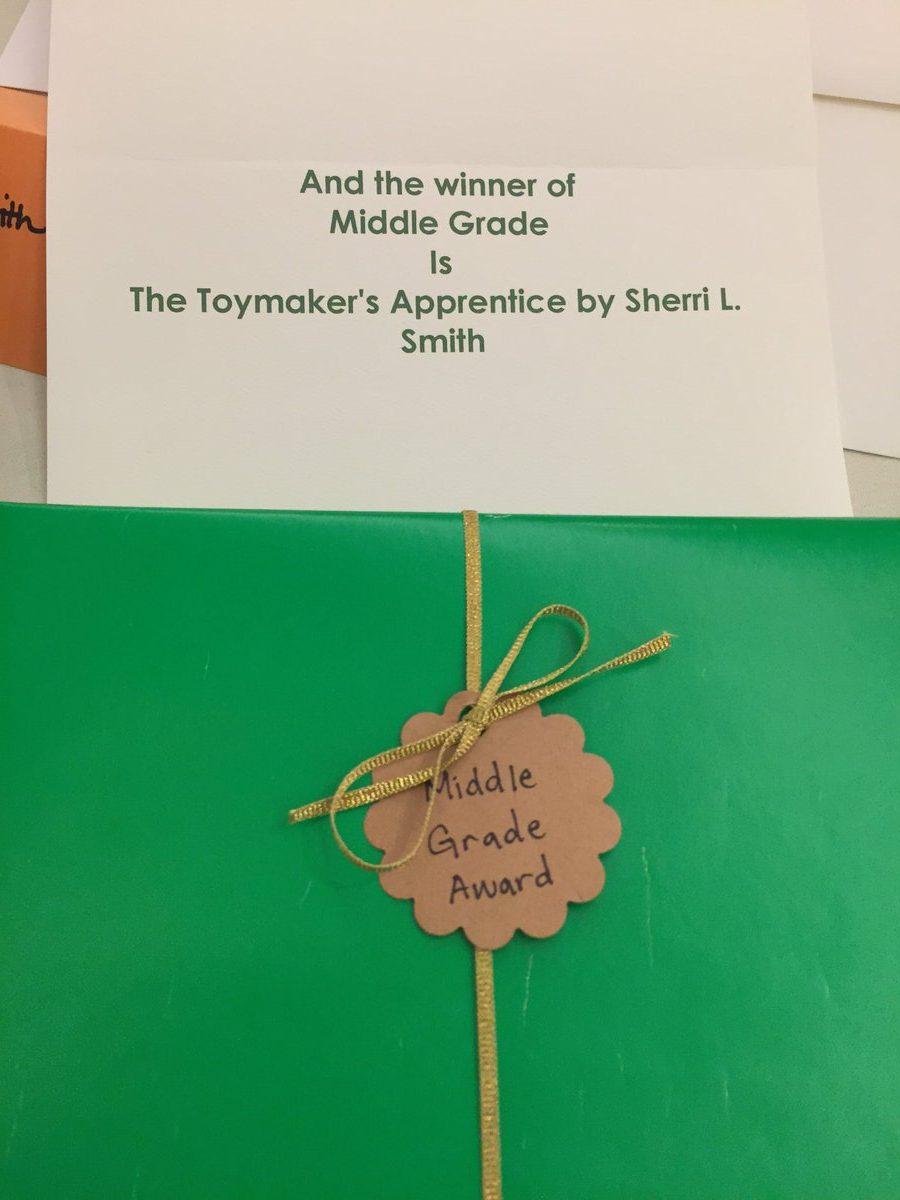SCIBA Award Wrapped