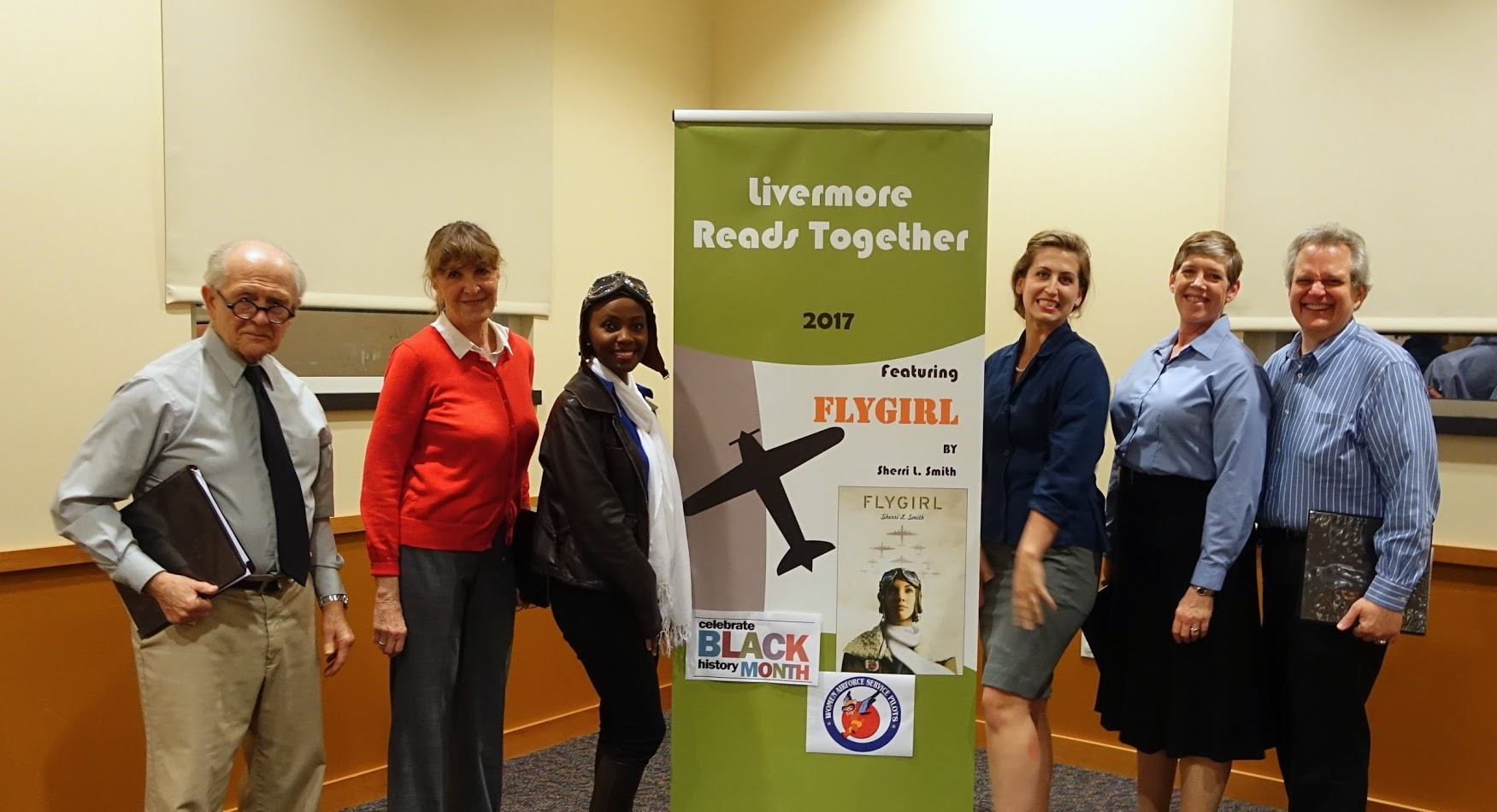 Livermore Reads Flygirl Reading