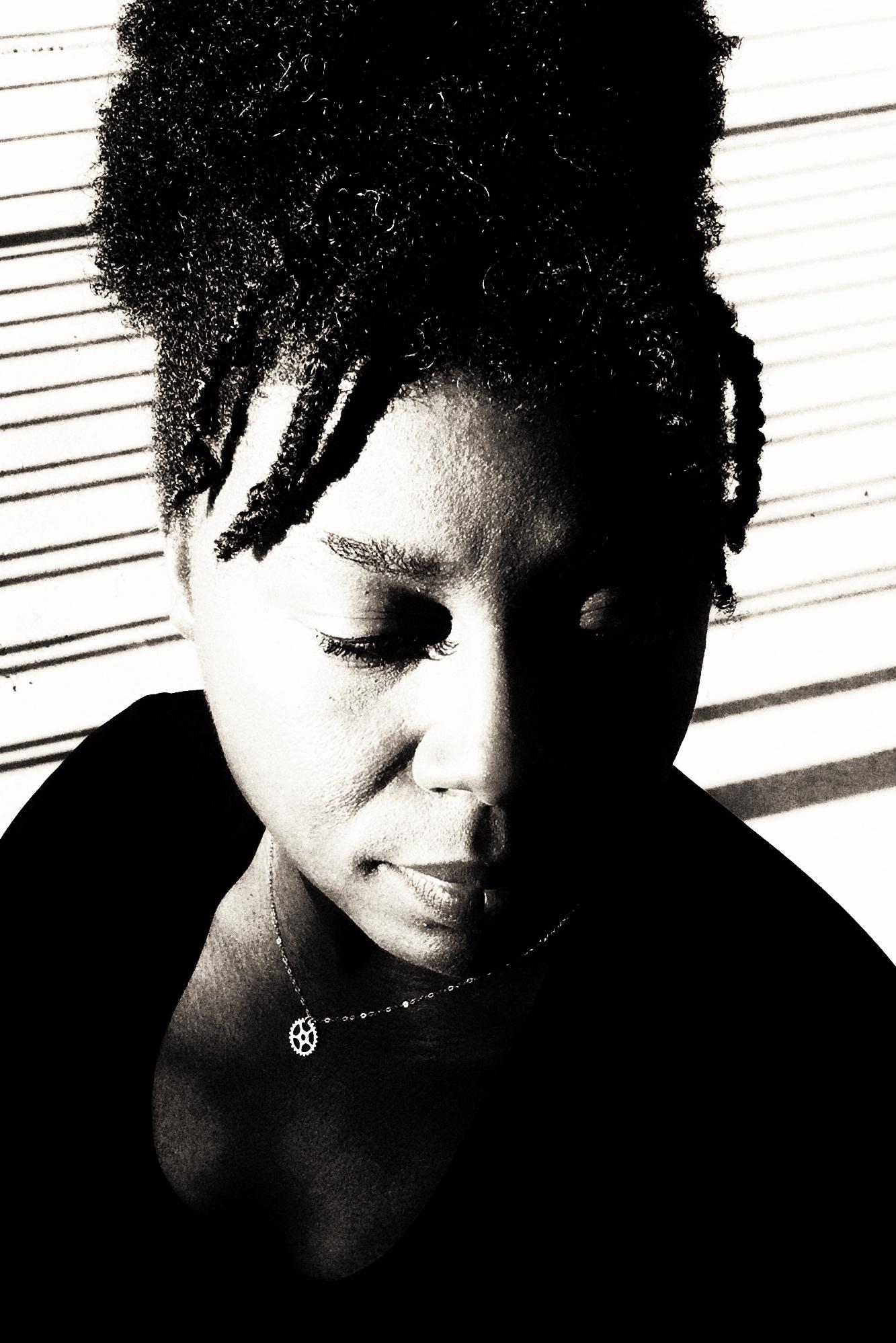 Sherri L Smith Author Photo - B&W