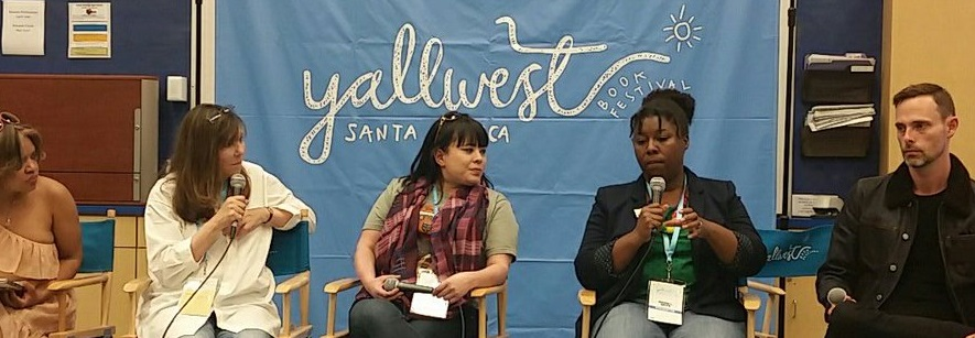 "Speaking on the ""Dark Childhood Worlds"" Panel - Yallwest 2018"