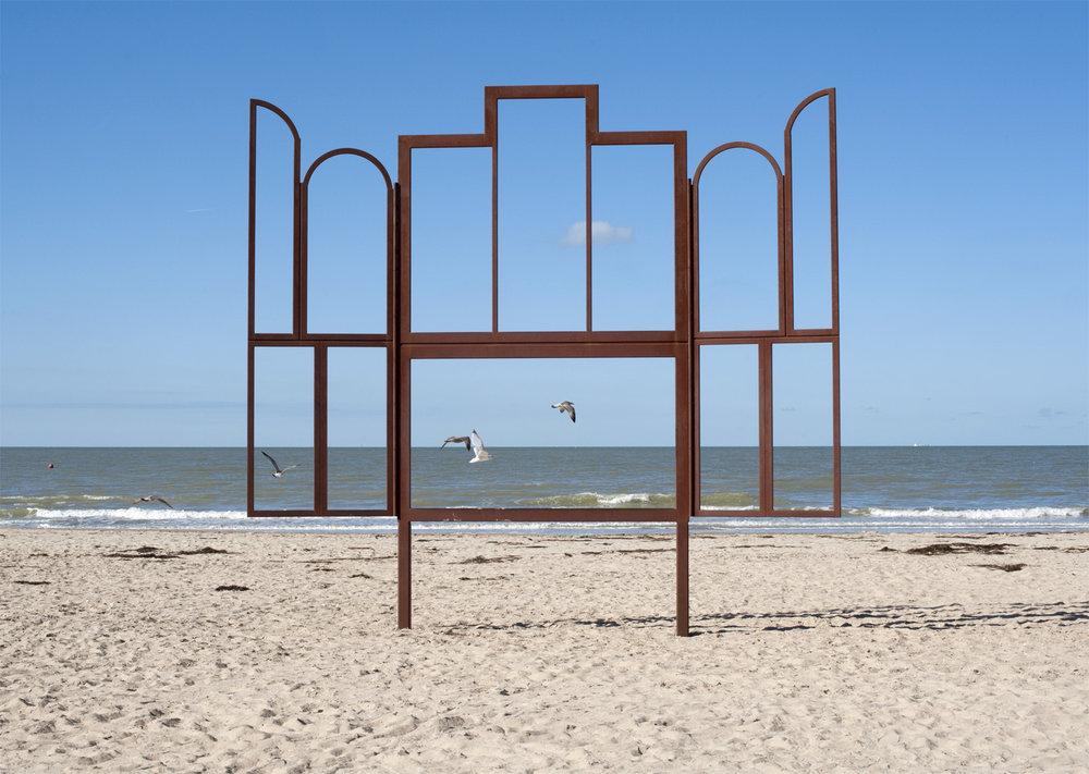 Fenêtre plage oiseau_photo Ostende.jpg