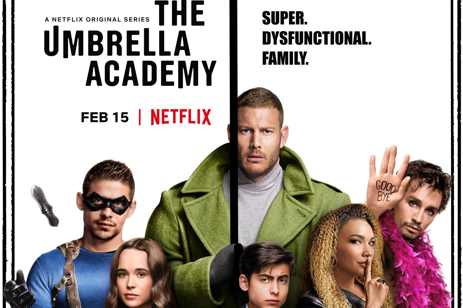 Monsters Aliens Robots Zombies VFX — Umbrella Academy renewed for